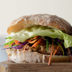 Recipe: Vietnamese chicken burgers