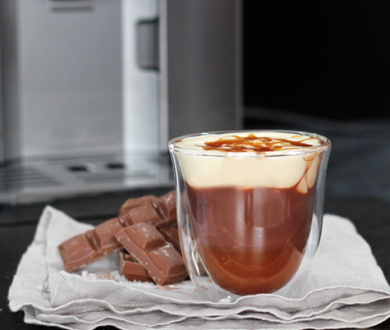 Recipe: Salted caramel hot chocolate