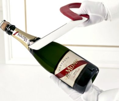 How to pop a cork with a sword (the delicate art of Sabrage)