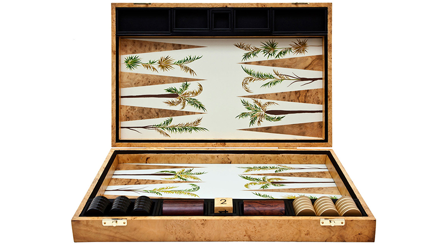 Got game? These are the most beautiful backgammon sets ever