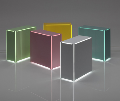 In store: Neon table lights by Minimalux