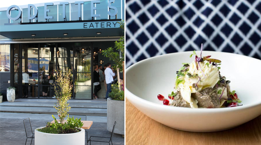 Odettes is the stunning all day eatery at City Works Depot
