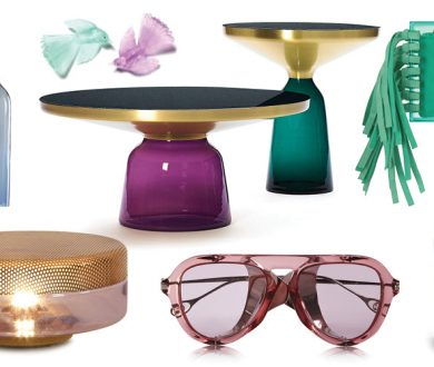 On Trend: Colour Transparency