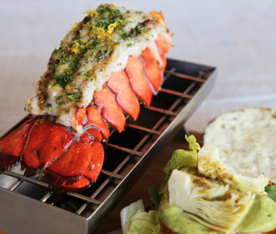 Must-try: Lobster Burger