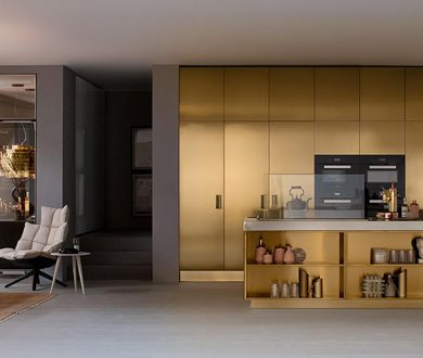 Arclinea kitchens present STEELIA