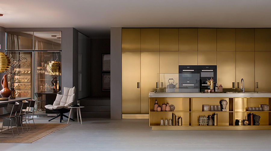 Arclinea kitchens present STEELIA | The Denizen
