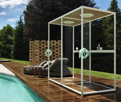 Make it rain — have you considered an outdoor shower?