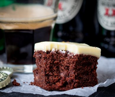 Recipe: St Patrick's Day Guinness brownies