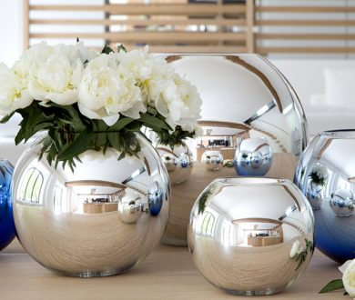 In store: Gleaming globes