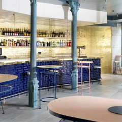 Ham Sandwich & Champagne Bar in Madrid