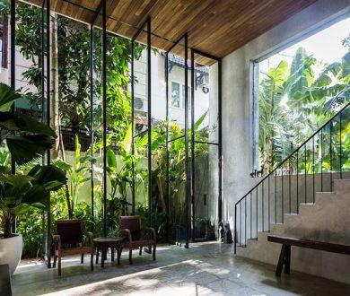 Thong House by Nishizawa Architects
