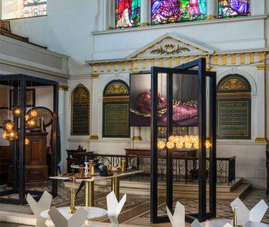 Tom Dixon takes over London's St James Church