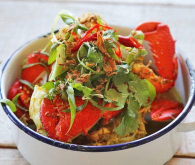 Must-try dish: Spanner crab pot