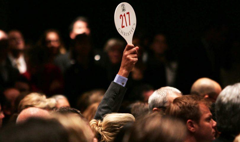 How to: bid at an art auction