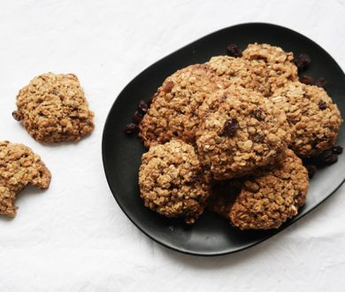 Recipe: Guilt-Free chewy oatmeal raisin cookies