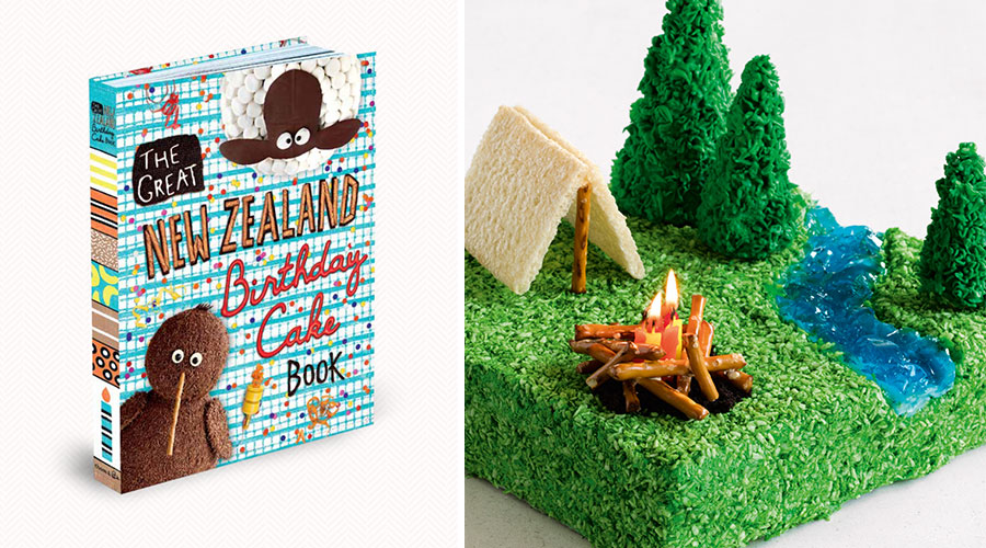 Cake Decorating Books New Zealand : The birthday cake book revival The Denizen