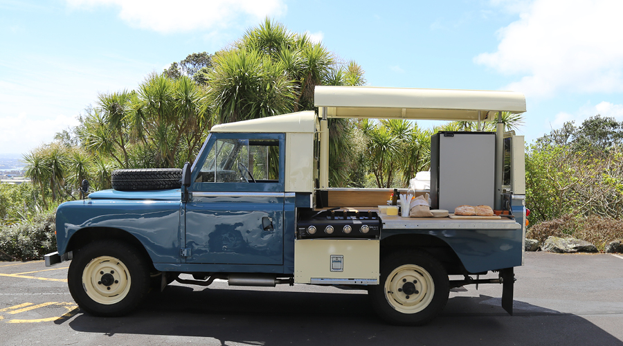 food truck guerrilla grill the denizen. Black Bedroom Furniture Sets. Home Design Ideas
