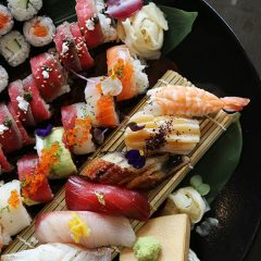 4 rules for eating sushi