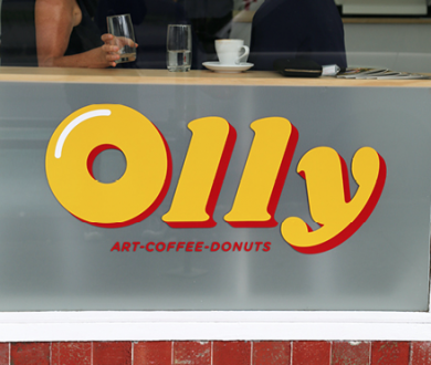 Olly — doughnuts, art and coffee collide at this über cool pitstop