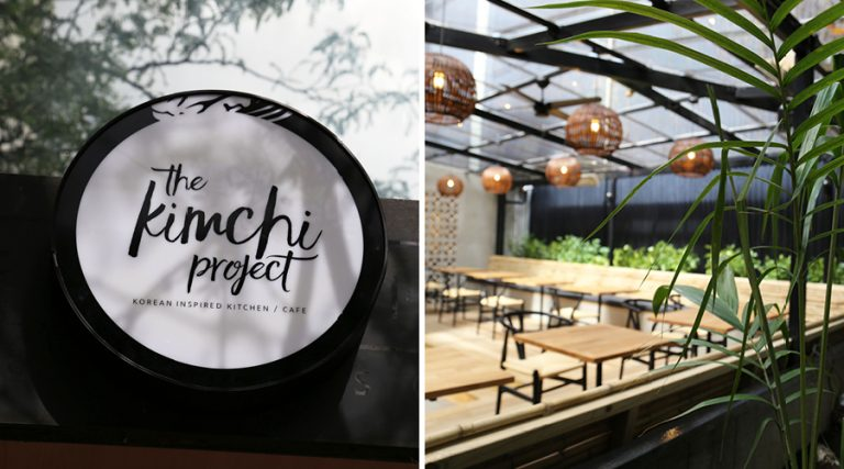 The Kimchi Project has one of the best courtyards in town