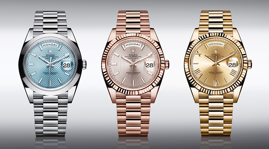The new rolex day date 40 keeps time better than official timekeepers the denizen for Watches better than rolex
