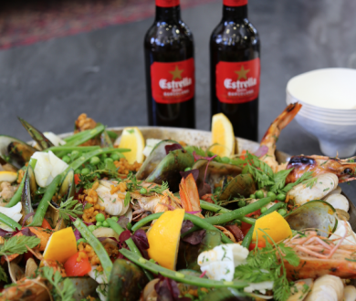 Ben Bayly's authentic paella recipe is the perfect summer crowd-pleaser