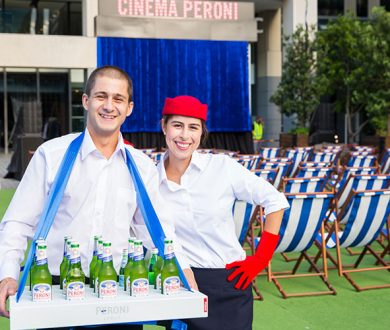 Cinema Peroni is back!