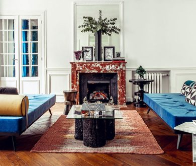 Hilary Swank's stunning apartment brings a bit of NYC to Paris