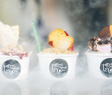 Auckland's newest ice cream pop-up will have you blowing smoke