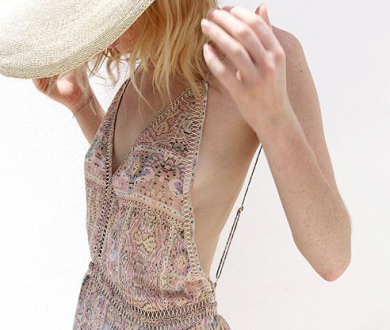 This French designer's easy-to-wear collection exudes bohemian chic