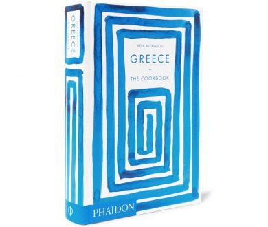 PHAIDON Greece: The Cookbook Hardcover Book