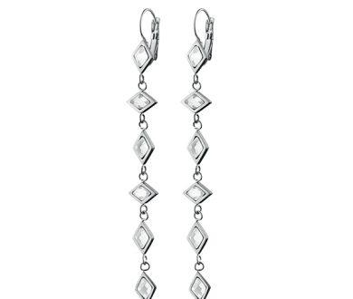NIZWA SS Crystal earrings