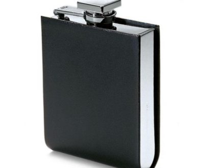 Giorgio Leather Hip Flask