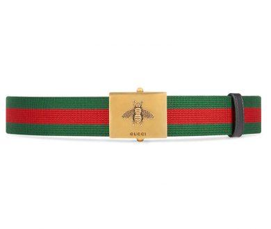 Bee buckle belt