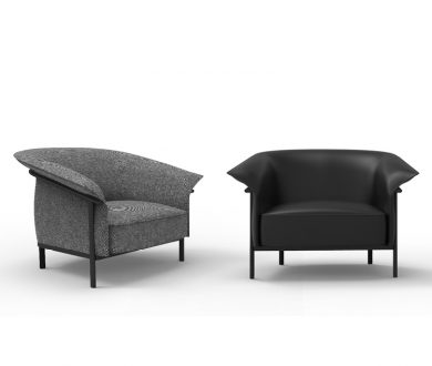 The Kite Armchair by GamFratesi for Porro