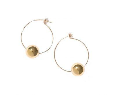 Adrian Hoop Earrings