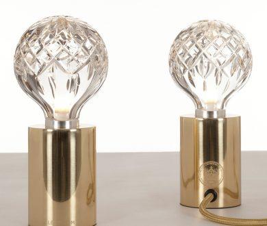 Lee Broom Clear Crystal Bulb table lamp