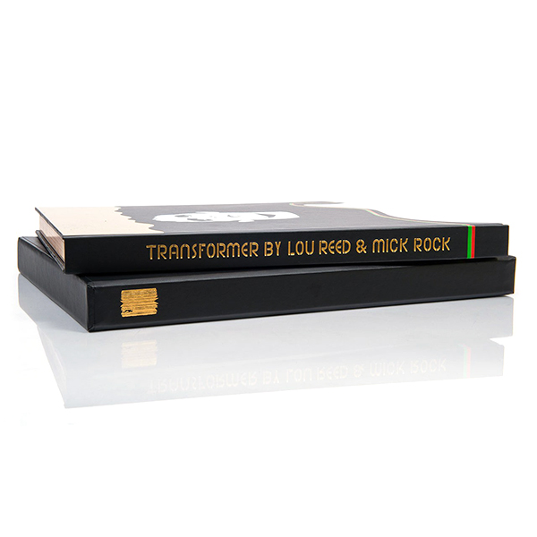 Signed copy of 'Transformer by Lou Reed & Mick Rock'