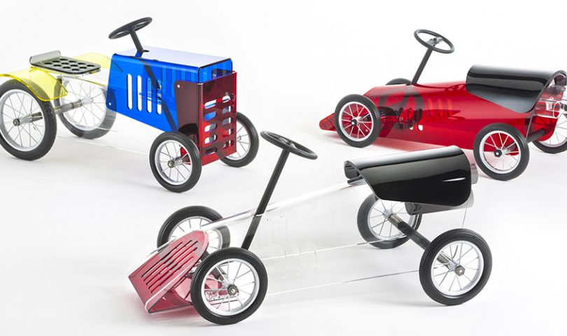 Leave all other kids in the dust with these designer toys
