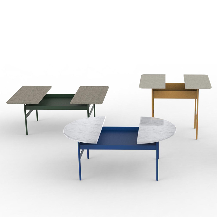Halfie tables by LIDO for My Home Collection