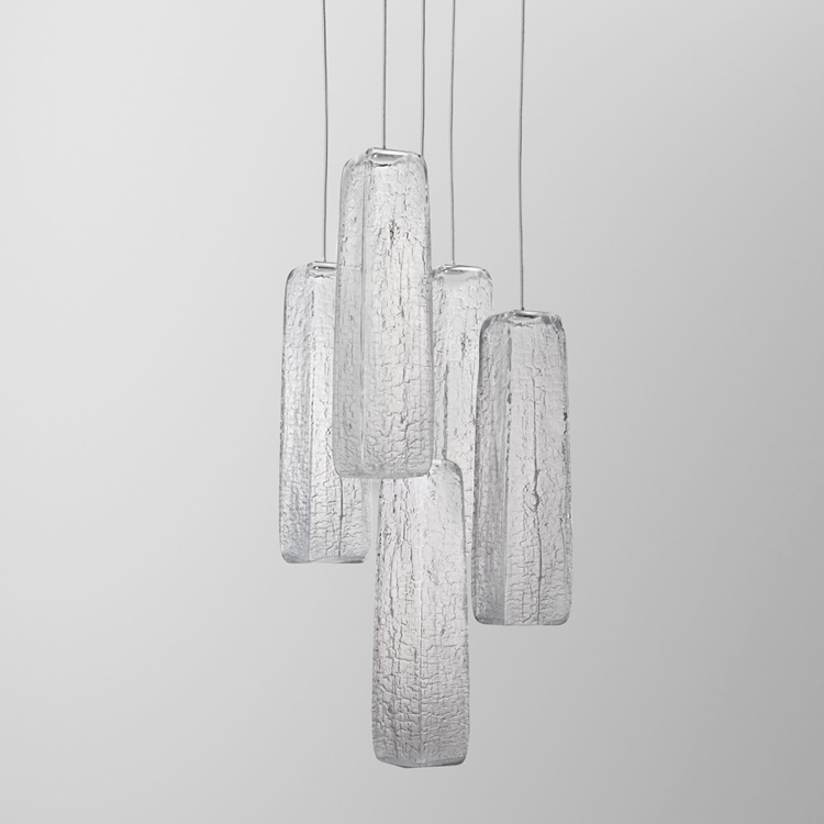 Yakisugi Light by Kengo Kuma for Lasvit
