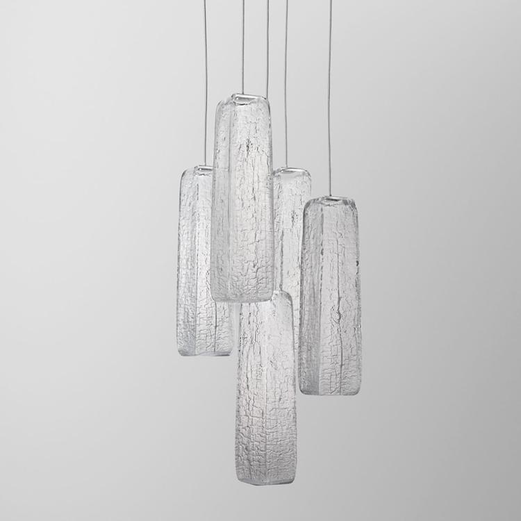 Yakisugi Light by Kengo Kuma for Lasvit