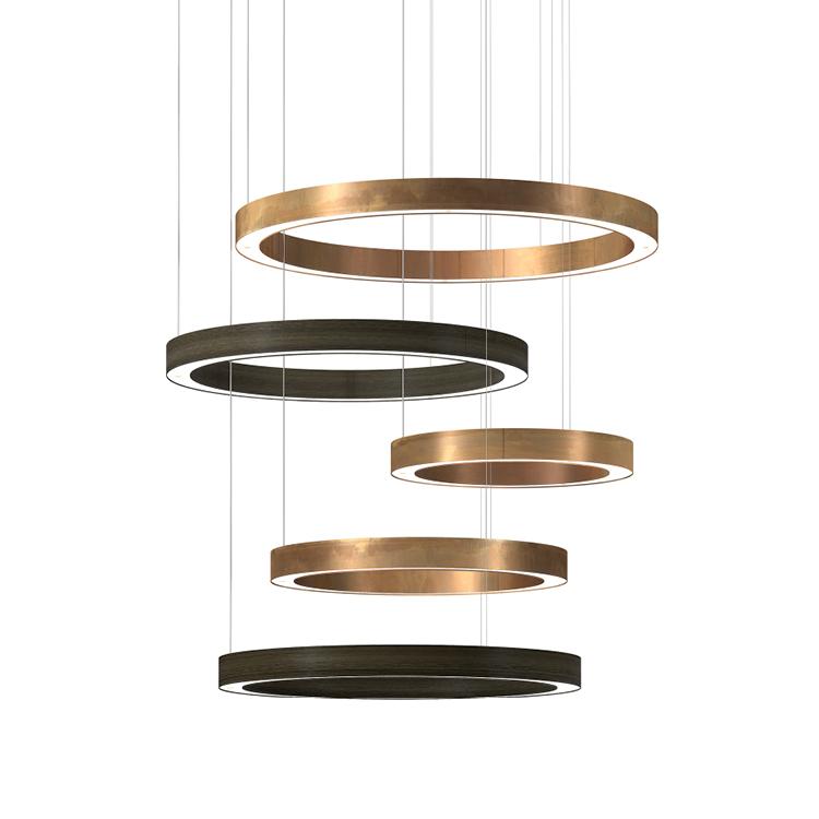 Light Ring Horizontal Sospensioni for Henge