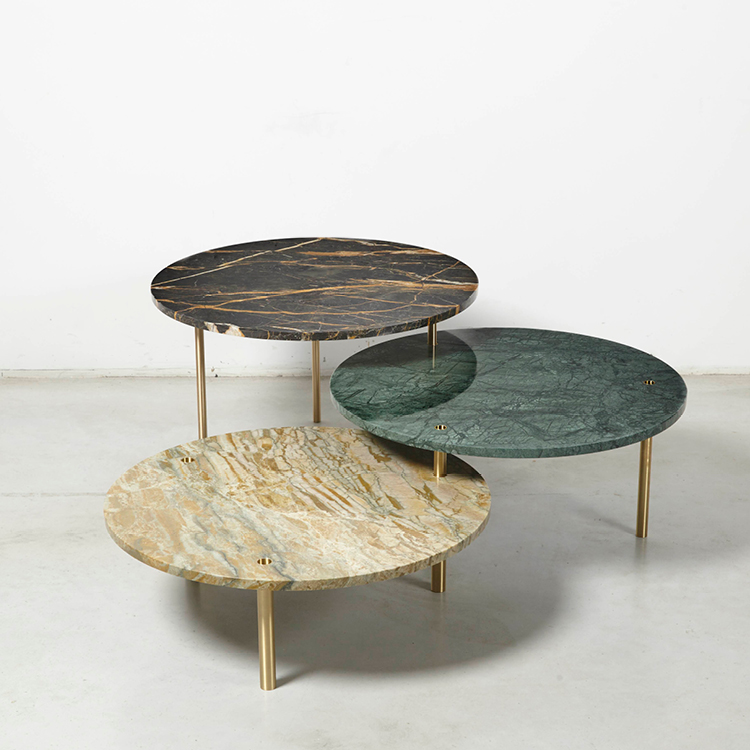 Tectonic Tables by Maarten De Ceulaer for Nilufar Gallery