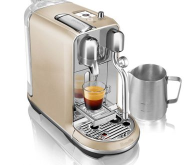 Creatista Breville Royal champagne coffee machine