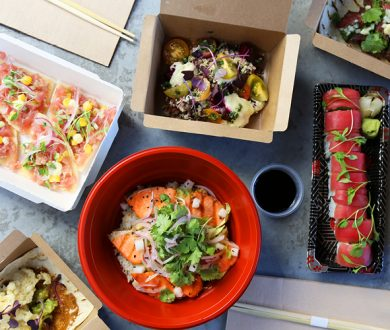 Ponsonby's hottest Japanese x Peruvian eatery is finally offering lunchtime takeaways