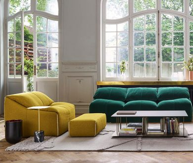 Set your seat on the plush velvet sofa of the moment