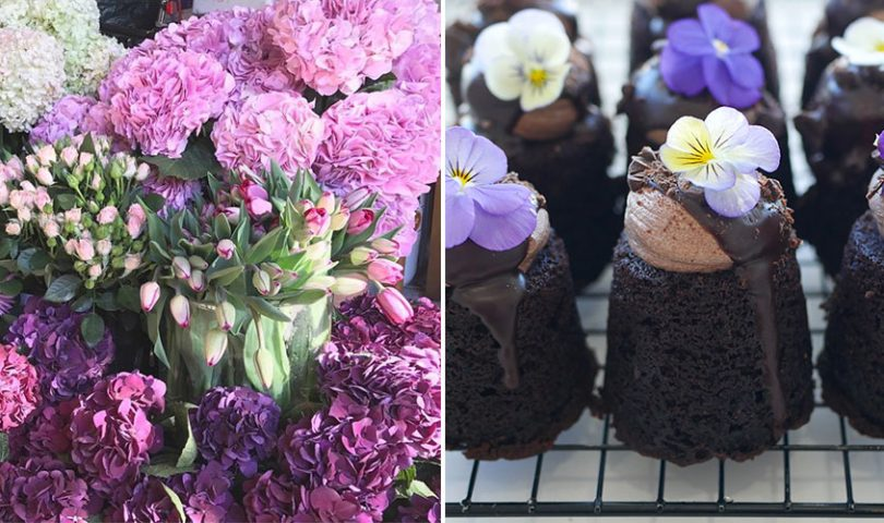 A new weekend market dedicated solely to flowers and sweet treats