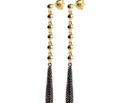 Manee SG black earrings