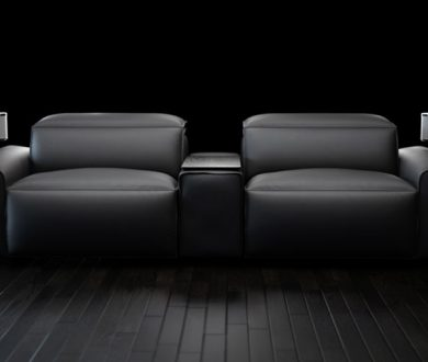 This hi-tech sofa is making movie-nights at home look better than ever